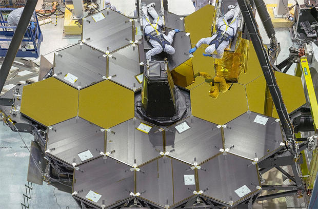 James Webb Space Telescope set for critical tests - CBS News