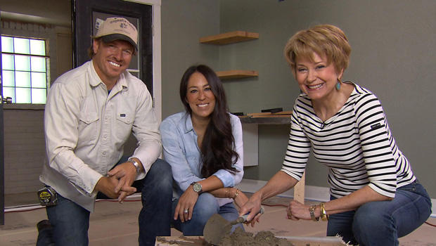 Chip and joanna gaines with correspondent jane pauley