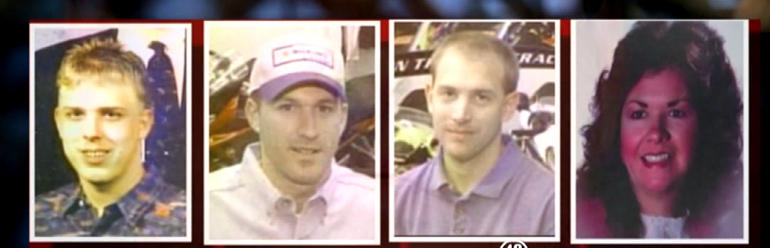 """Victims of the 2003 """"Superbike"""" murders in Chesnee, S.C."""