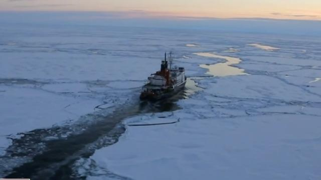 Russian tanker cuts previously impossible path through warming Arctic