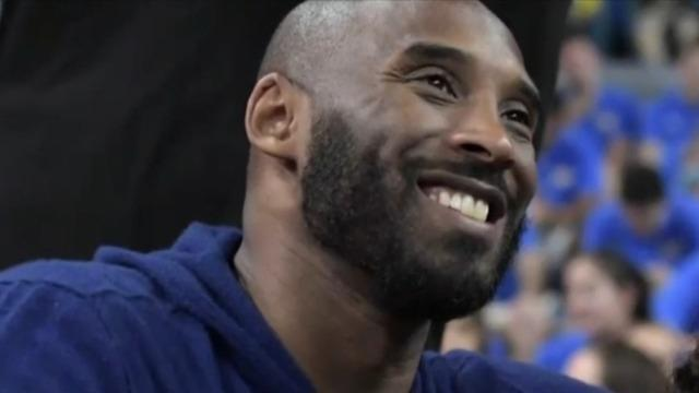 Kyrie Irving wants NBA to honor Kobe Bryant with new logo