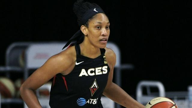 WNBA star A'ja Wilson on giving back to the next generation
