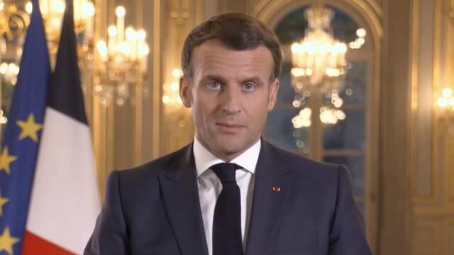 Macron says Biden is