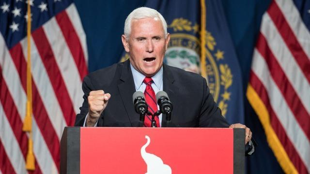 Pence heckled at conservative conference in Florida