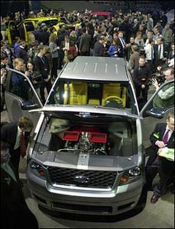 2003 Detroit Auto Show