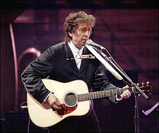 Bob Dylan, folk rock music legend