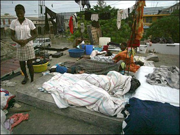 Haiti Jeanne Suffering