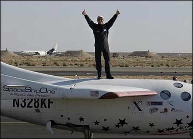 SpaceShipOne Record Flights
