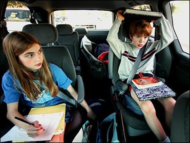 Back-to-school car safety checklist
