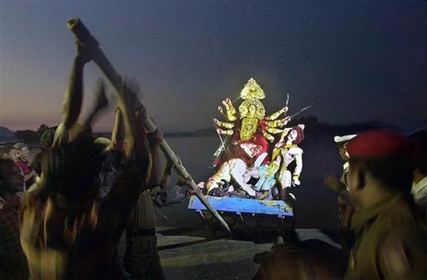 Indian Hindus Celebrate Goddess