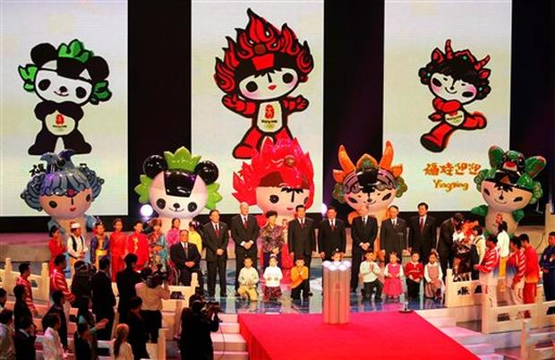 Mascots Unveiled
