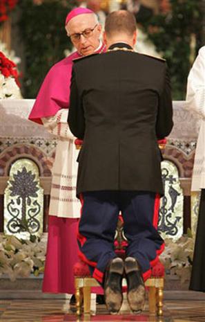 Albert's Enthronement