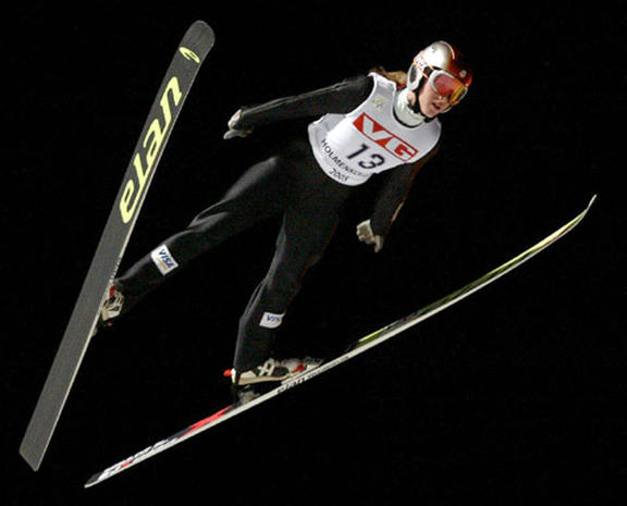Women Ski Jumpers