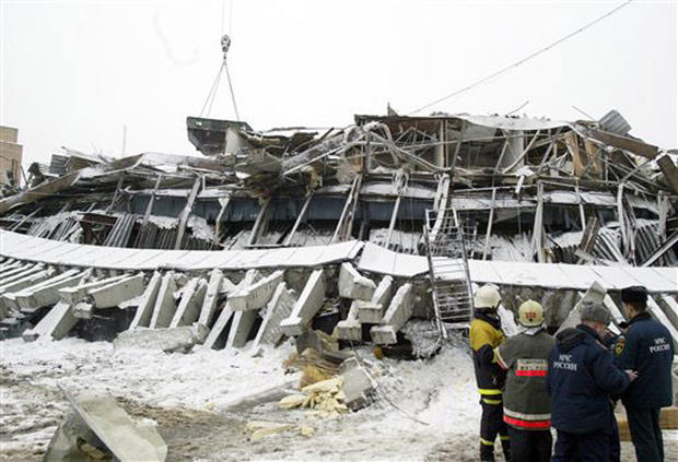 Moscow Roof Collapse