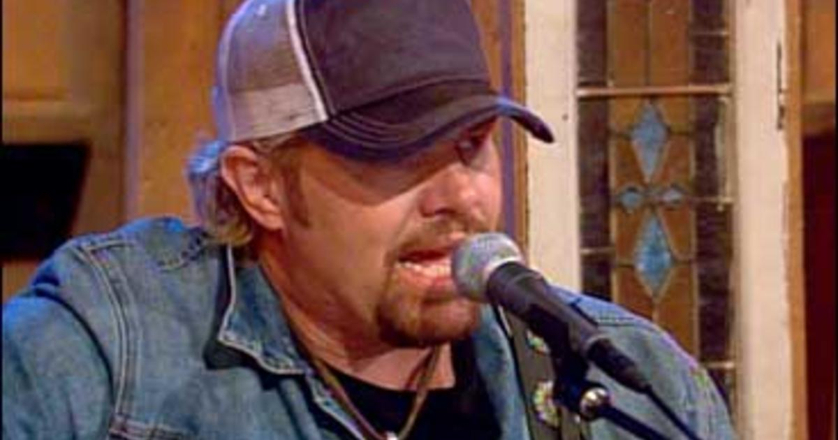 Toby Keith: 'White Trash With Money' - CBS News