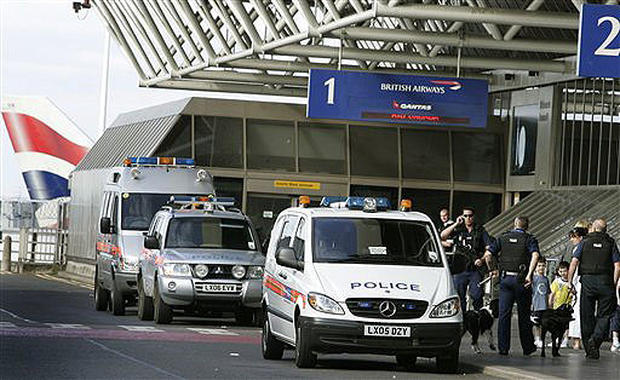 Planes Targeted For Terror