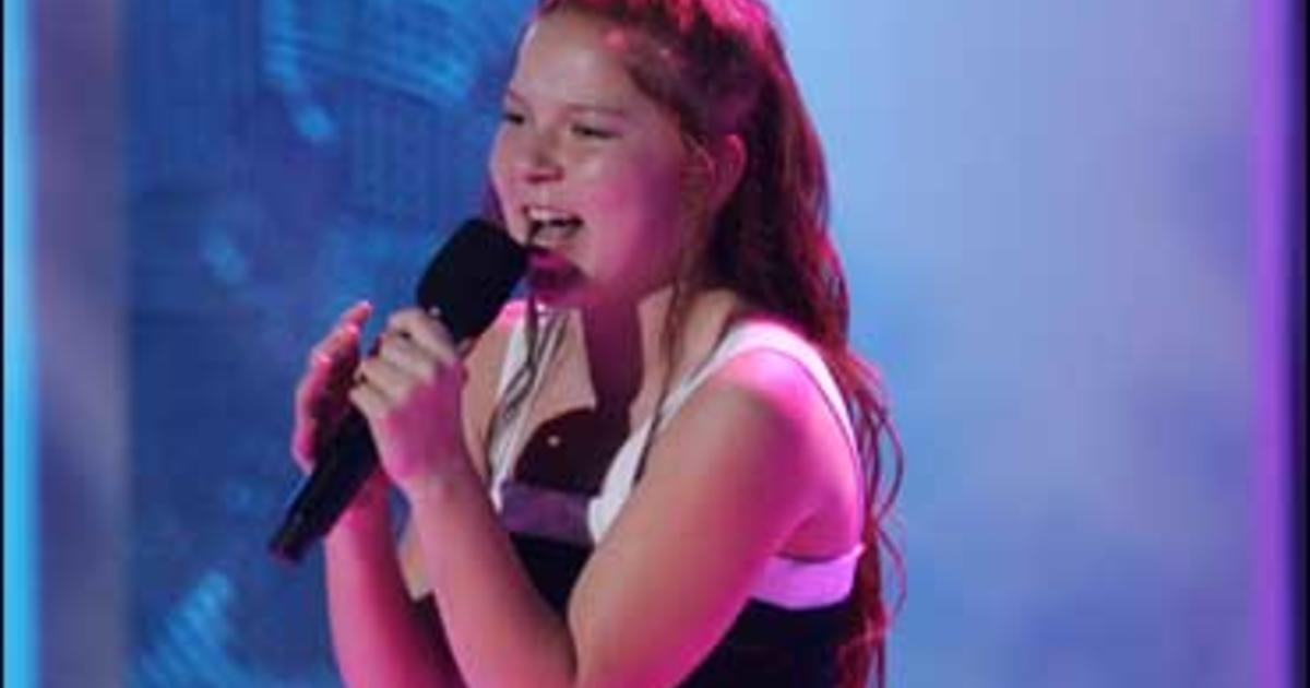 Bianca Ryan S Got Talent Cbs News