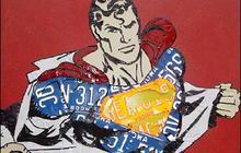 License Plate Pop Art
