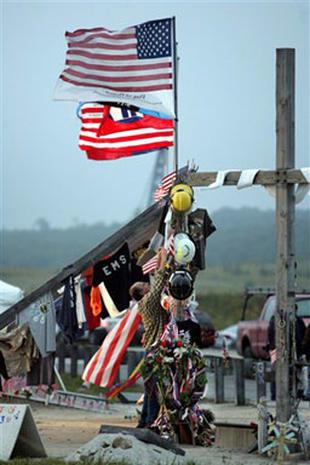 Grief Shared In Shanksville