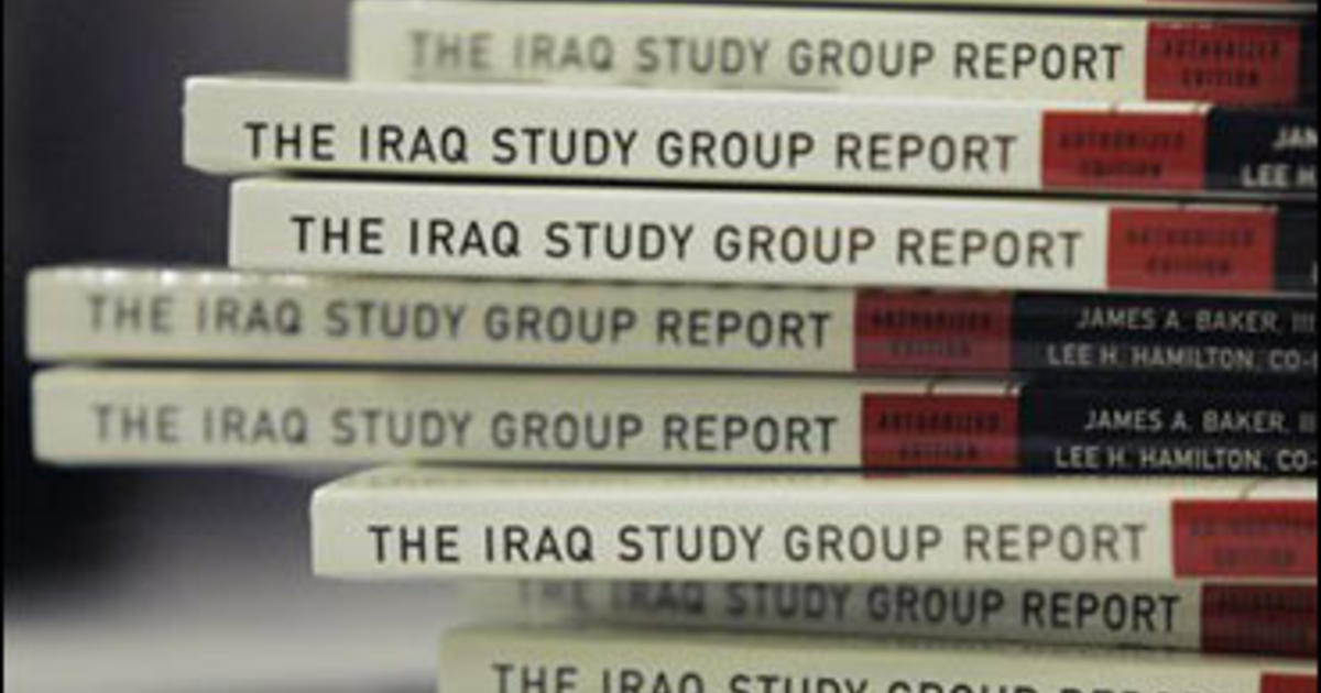 The Iraq Study Group report (2006 edition) | Open Library