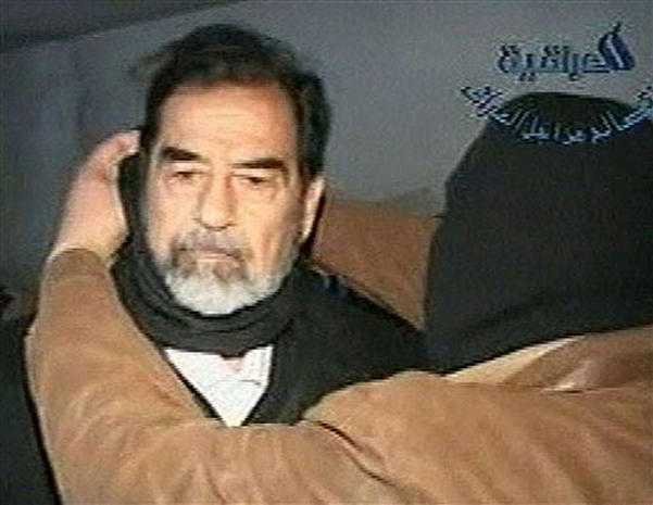 Amateur video shows the final moments of saddam hussein please Absolutely