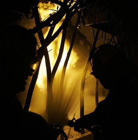 Malibu Mansions Burn