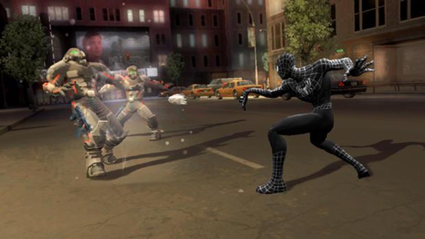 """Spider-Man 3"" Screenshots"