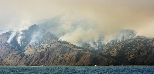 Catalina Island Fire