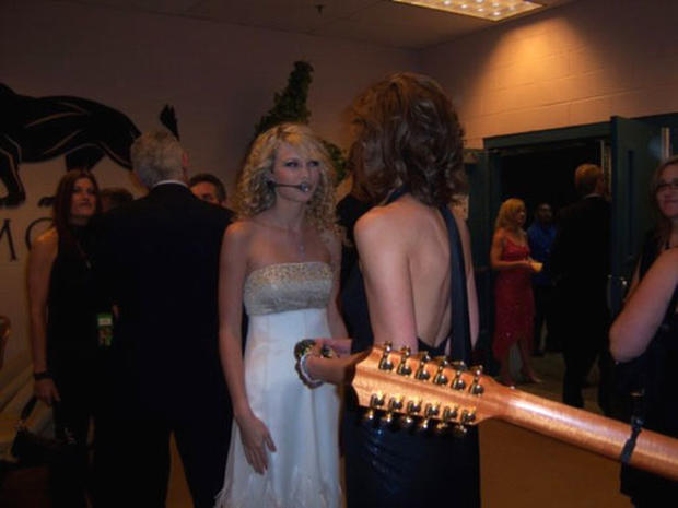 Backstage at The ACMs