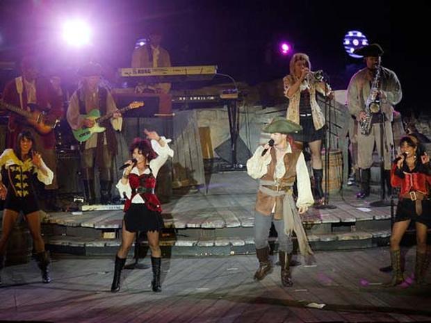 "Disneyland Welcomes ""Pirates"""