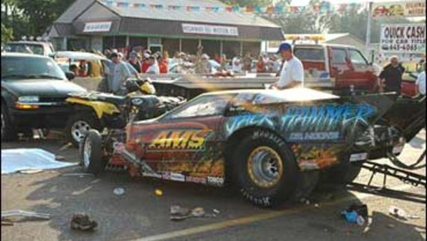 6 killed by drag car at charity festival cbs news