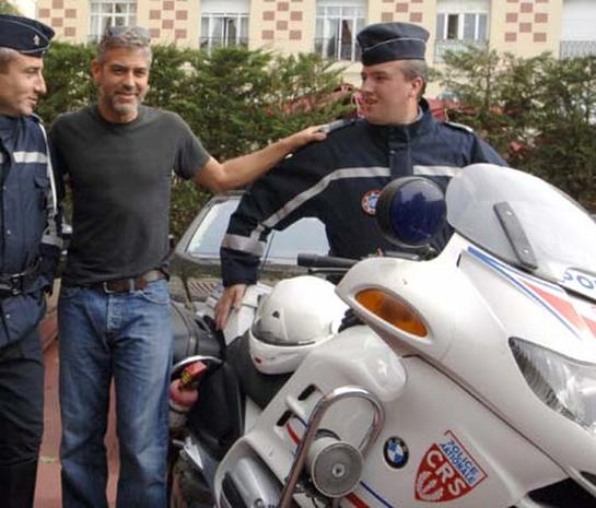 French Award for Clooney