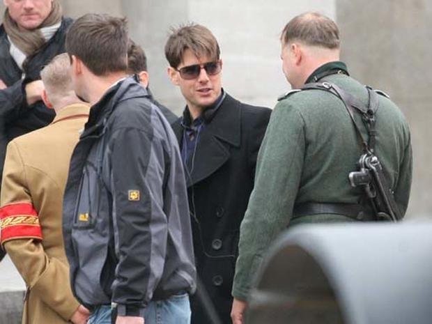 "Tom Cruise on ""Valkyrie"" Set"
