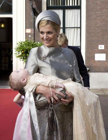 Dutch Princess Ariane's Baptism