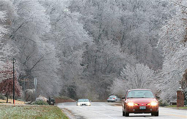 Deadly Ice Storm Photo 1 Pictures Cbs News