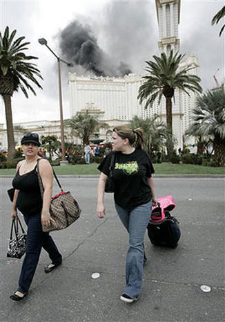 Vegas Casino Fire