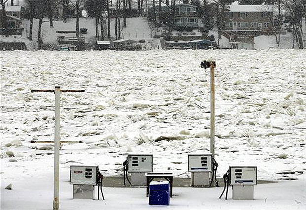 Icy Storm Hits Hard
