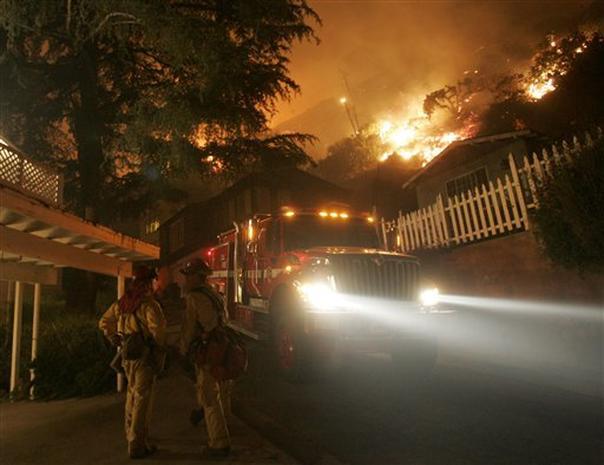 Sierra Madre Fire