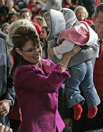 Palin Presses On