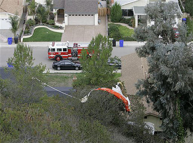 Fighter Jet Crash In S.D.