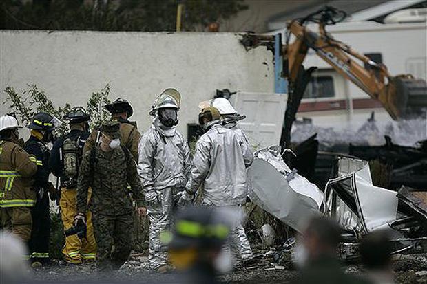 Fighter Jet Crash In S.D.
