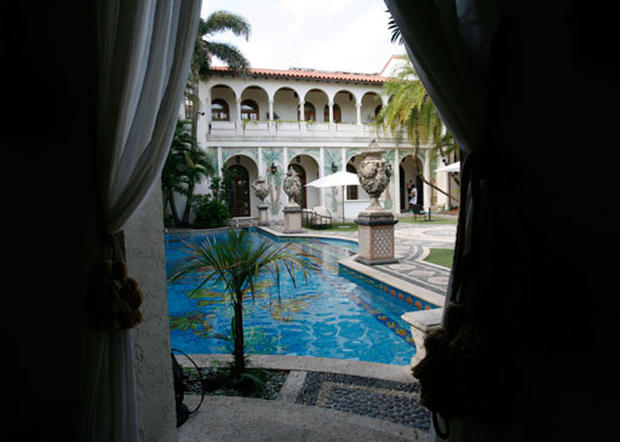 Versace's Miami mansion