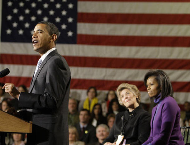 Obama's Inaugural Train Ride