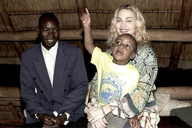 Madonna Back In Malawi