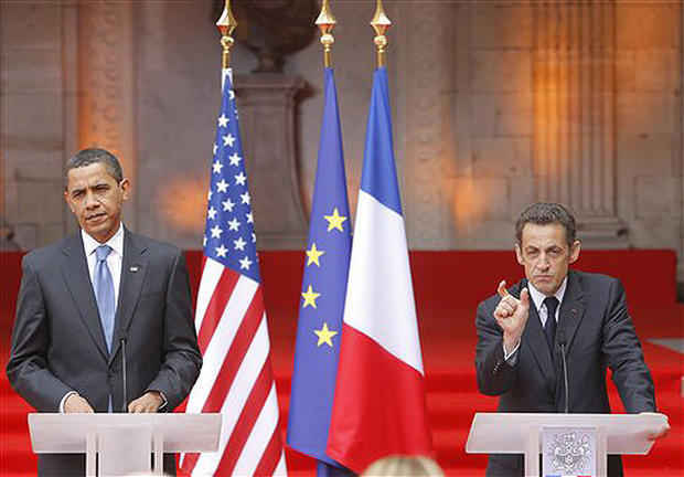 Obama Storms The Continent