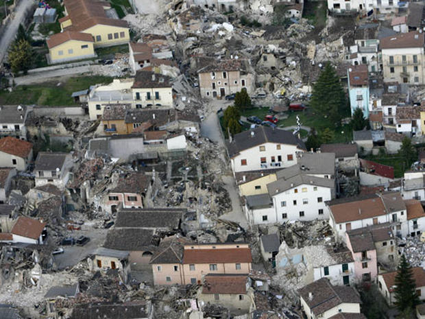 Italy Earthquake Aftermath