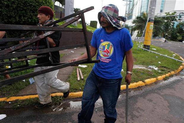 Military Coup In Honduras