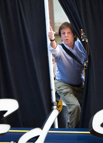"McCartney Rocks the ""Late Show"""