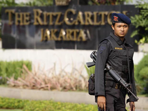 Jakarta Hotel Blast