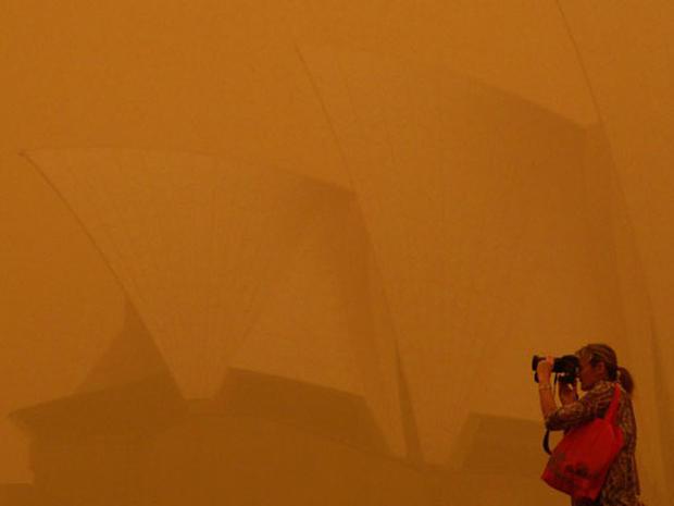 Australia Dust Storm
